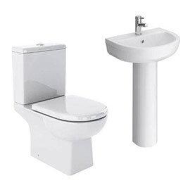 Marina 4-Piece Modern Bathroom Suite
