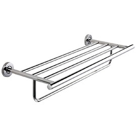 Franke Medius MEDX012HP Wall Mounted Double Towel Rack