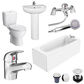 Melbourne 1700 x 700 Complete Bathroom Package