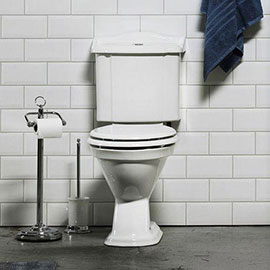 Miller - Close Coupled Pan and Cistern with Soft Close Seat