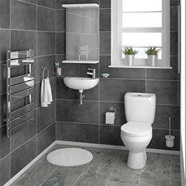Melbourne Ceramic Cloakroom Suite