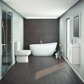 Miami Modern Slipper Bathroom Suite