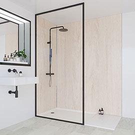 Multipanel Heritage Alabaster Oak Bathroom Wall Panel