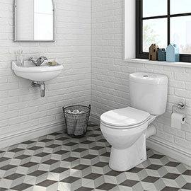 Novad Ceramic Cloakroom Suite