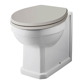 Carlton Traditional Back To Wall Pan (Excluding Seat) - NCS806