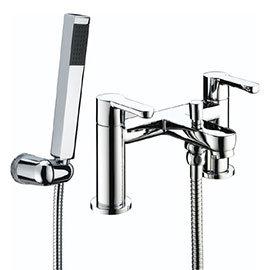 Bristan - Nero Bath Shower Mixer - Chrome - NR-BSM-C