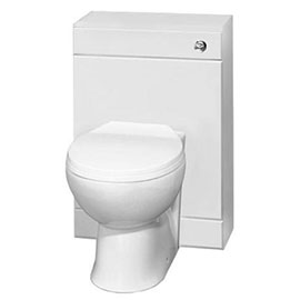 Sienna 500mm BTW Toilet Unit inc. Cistern + Soft Close Seat (Depth 200mm)