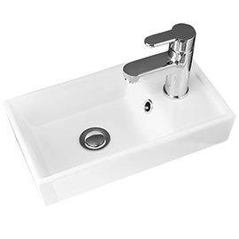 405 x 222mm Minimalist Counter Top Basin - NVX001