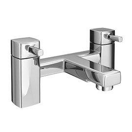 Neo Minimalist Bath Filler - Chrome