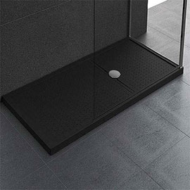 Novellini Olympic 125mm Methacrylate Shower Tray - Black