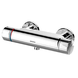 Bristan - Opac Thermostatic Exposed Bar Shower Valve with Fast Fit Connections - OP-SHXVO-EH-C