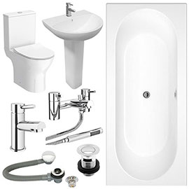 Orion Complete Bathroom Suite Package