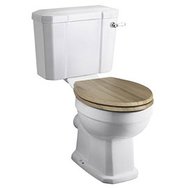 Old London Richmond Close Coupled Traditional Toilet + Soft Close Seat