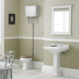 Old London Richmond High Level Traditional Bathroom Suite