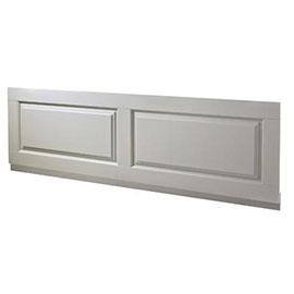Old London - Front Bath Panel & Plinth - Stone Grey - 2 Size Options