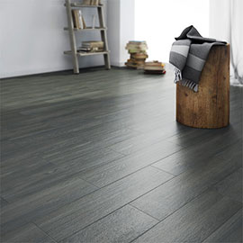 Oslo Carbon Wood Tiles - Wall and Floor - 150 x 600mm