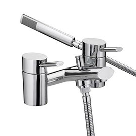 Bristan - Oval Bath Shower Mixer - Chrome - OL-BSM-C