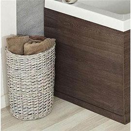 Hudson Reed Mid Sawn Oak End Bath Panel - Various Size Options