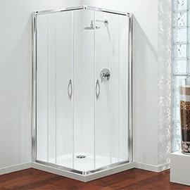 Coram - Premier Corner Entry Shower Enclosure - Various Size Options