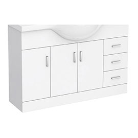 Cove 1200mm Vanity Cabinet (excluding Basin)