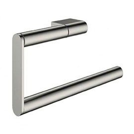 Crosswater MPRO Towel Ring - Brushed Stainless Steel Effect - PRO013V