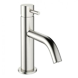Crosswater MPRO Monobloc Basin Mixer - Brushed Stainless Steel - PRO110DNV