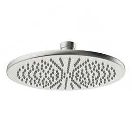 Crosswater MPRO 300mm Round Fixed Showerhead - Brushed Stainless Steel - PRO300V