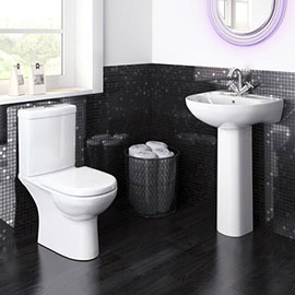 Premier Lawton Compact 4-Piece Bathroom Suite