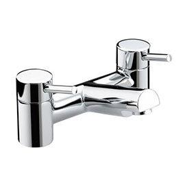 Bristan - Prism Contemporary Bath Filler - Chrome - PM-BF-C