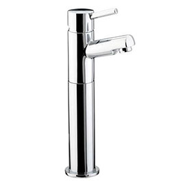 Bristan - Prism Contemporary Tall Basin Mixer (no waste) - Chrome - PM-TBAS-C
