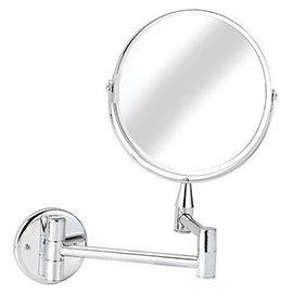 Croydex Small Round Magnifying Mirror - QA103041