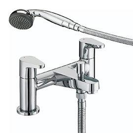 Bristan Quest Contemporary Bath Shower Mixer - Chrome - QST-BSM-C
