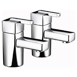 Bristan - Qube Bath Taps - Chrome - QU-3/4-C