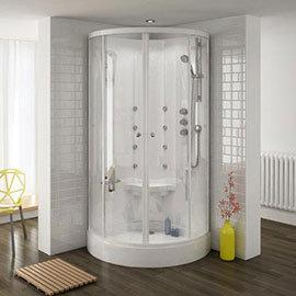 Quadrant Hydro Massage Shower Cabin Enclosure - HMC001