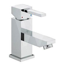 Bristan - Quadrato Small Basin Mixer (no waste) - Chrome - QD-SMBAS-C