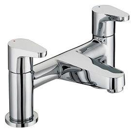 Bristan - Quest Contemporary Bath Filler - Chrome - QST-BF-C