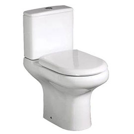 RAK Compact Close Coupled Toilet with Soft Close Seat