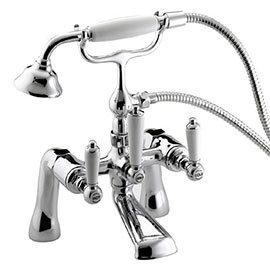 Bristan Renaissance Bath Shower Mixer - Chrome Plated - RS2-BSM-C