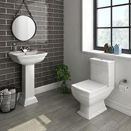 Rydal 4-Piece Traditional Bathroom Suite