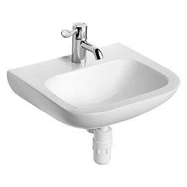 Armitage Shanks Portman 21 50cm 1TH Washbasin (No Overflow) - S225201