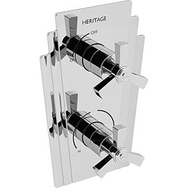 Heritage Gracechurch Twin Concealed Shower Valve - SGRC01