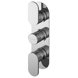 Asquiths Solitude Triple Concealed Shower Valve - SHB5116