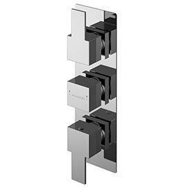 Asquiths Revival Triple Concealed Shower Valve - SHC5116