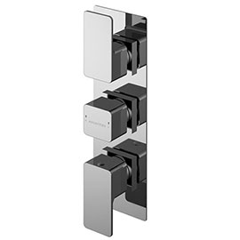 Asquiths Tranquil Triple Concealed Shower Valve With Diverter - SHD5117