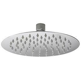 Asquiths 200mm Slim Round Fixed Shower Head - SHZ5129