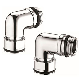 Bristan - Extended Elbows for Stratus Shower Valves - SKINLET-15CP