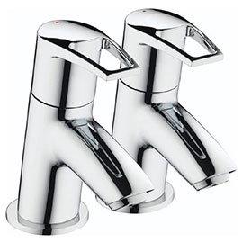 Bristan - Smile Contemporary Bath Taps - Chrome - SM-3/4-C