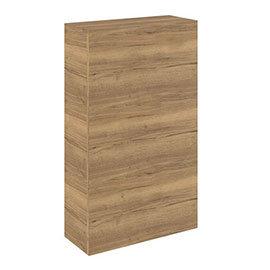 Crosswater Back to Wall WC Furniture Unit - Windsor Oak - SP5492WO