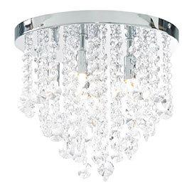 Forum Celeste 6 Light Flush Ceiling Fitting - SPA-24870-CHR