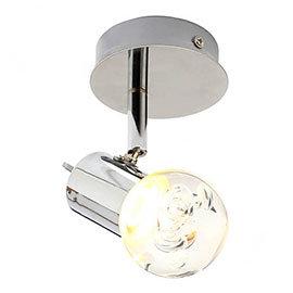 Forum Bubble LED Single Spotlight IP44 Chrome - SPA-30781-CHR